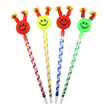 MultiColor Party Blowouts Whistles Kids Birthday Party Favors Decoration Supplies Noice maker Toys Goody Bags Pinata(China)