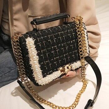 Square Tote Crossbody Bag 4