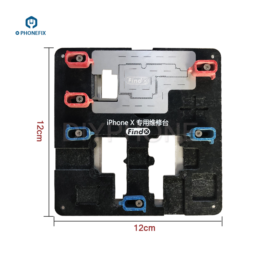 PHONEFIX Multi function Soldering Repair Platform PCB Motherboard Test Fixture Holder Repair Tool With IC Location