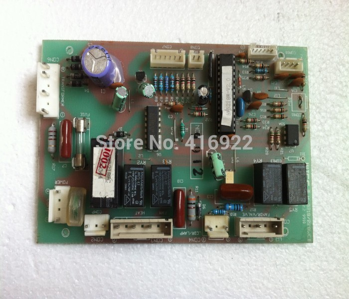 95% new good working 100% tested for Meiling refrigerator pc board motherboard v2.0 A00344 on sale sbc8252 long industrial motherboard cpu card p3 long tested good working perfec