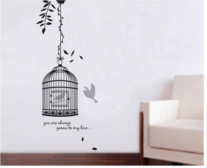 aliexpresscom acheter vintage dcor de cage islam murale peinture murale autocollant bricolage salle de bain tagre murale miroir mural daffiche de la - Etagere Murale Miroir