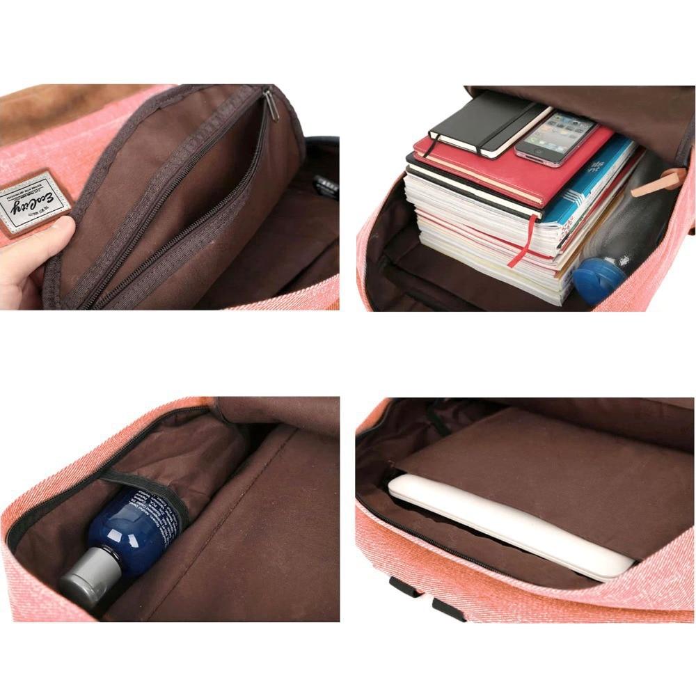 School bag herschel - Aliexpress Com Buy Ecocity Herschel Style School Bags For Teenagers Unisex Book Bag Student Backpack For Girls And Boys Rucksack Mochila Bp0033 From