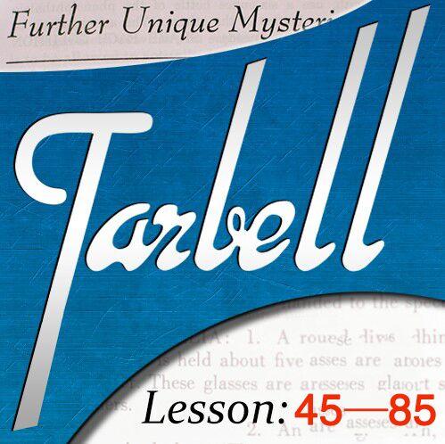 Tarbell Vol.45-Vol.85 Par Dan Harlan tours de Magie