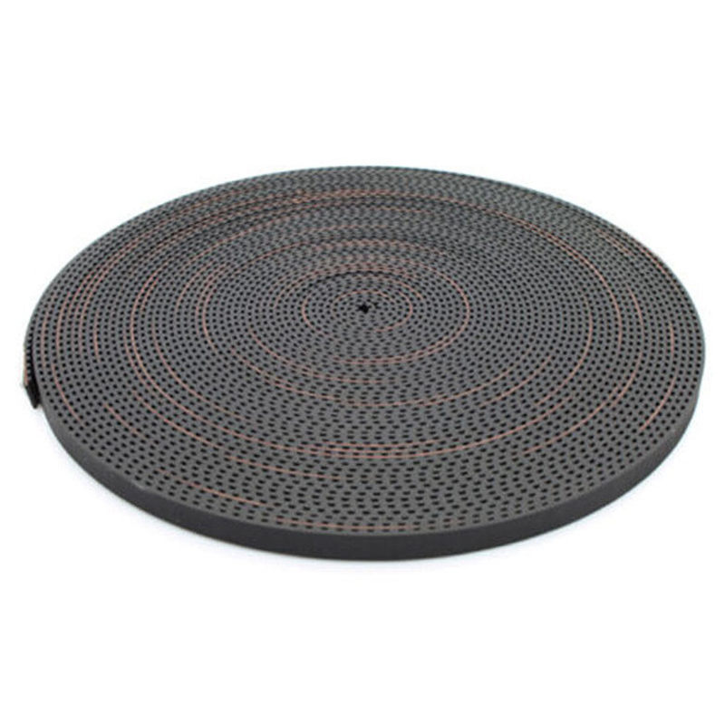 6mm GT2 RF Fiber Glass Reinforced Rubber Timing Belt for 3D Printer, 10 M