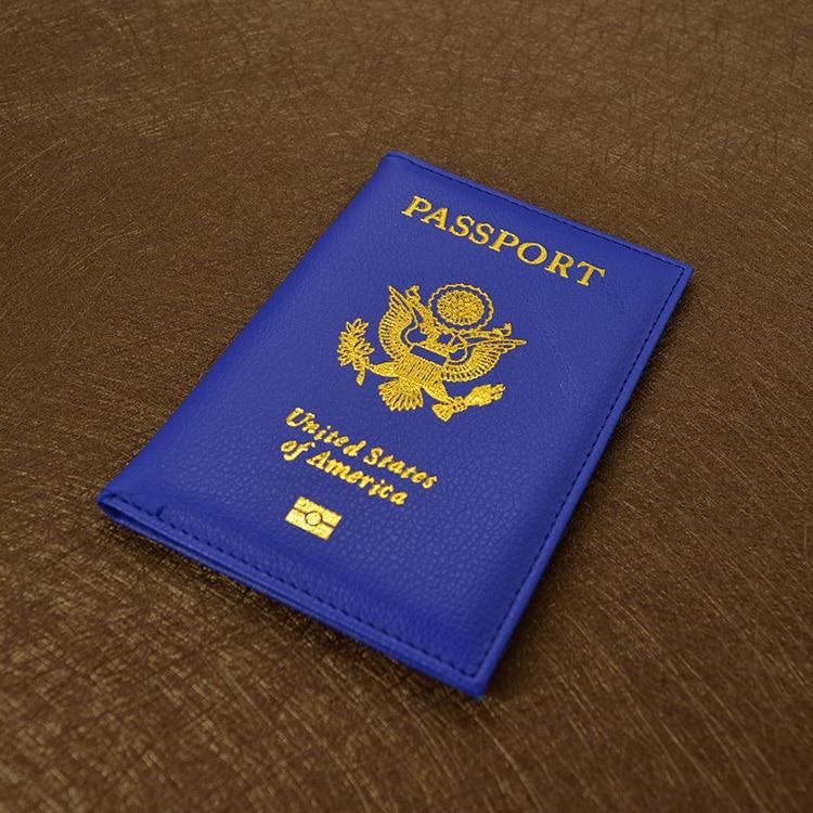 Милые Искусственная кожа США Обложка для паспорта розовый Для женщин Обложка для паспорта американский бренд кошелек обложек для паспорта девушки Америка паспорт
