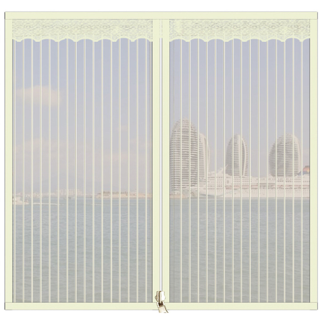 Mosquito Screens Home Window Screen Curtains Magnetic Mosquito Screens(China)