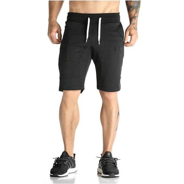 Man Shorts Men's Short Trousers 2016 Casual Calf-Length Jogger Mens Shorts Sweatpants Fitness Man Workout Cotton Shorts