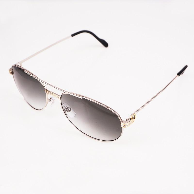 Lunettes de soleil 2018 luxe hommes lunettes de soleil marque designer vintage lunettes de soleil hommes cadre lunettes de soleil de haute qualité carter lunettes