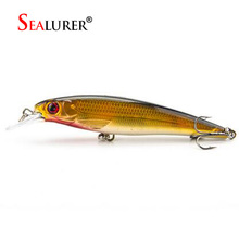 1PCS Laser Minnow Fishing Lure 11CM 13G pesca hooks fish wobbler tackle crankbait artificial japan hard bait swimbait