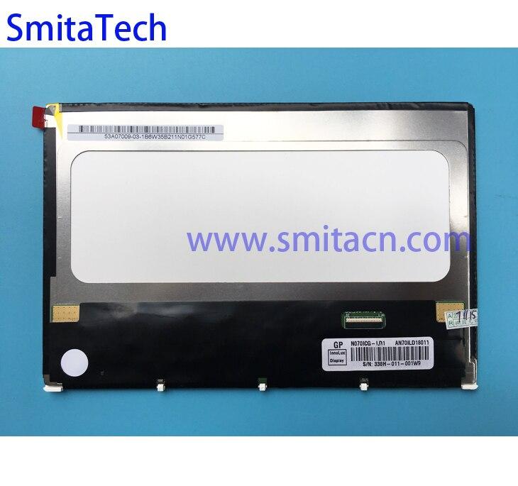 7.0 pouces indurstrial TFT lcd affichage N070ICG-LD1 AN701LD18011 39 broches écran panneau de remplacement