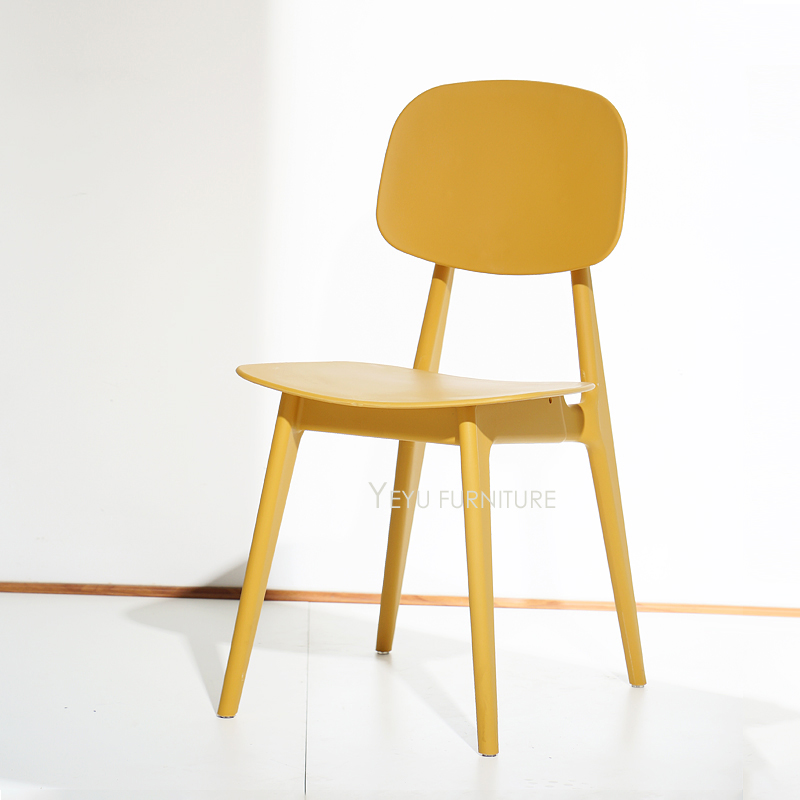 fashionable design teal dining chairs. Minimalist Modern Design Plastic Nice Color Dining Side Chair  fashion colorful cafe chair home loft popular in Chairs from