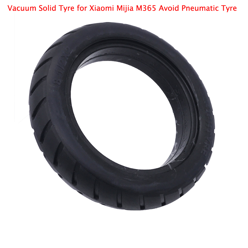 Scooter Vacuum Solid Tyre for Xiaomi Mijia M365 Electric Skateboard Scooter Skate Avoid Pneumatic Tyre Anti-skid Anti-thorn Tire
