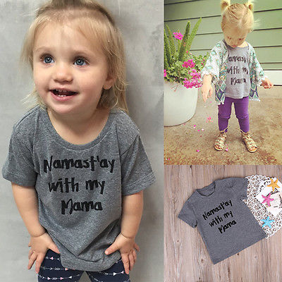 2017-Fashion-Baby-Boy-Girl-Short-Sleeve-Clothes-T-shirt-Graphic-Tee-Top-Toddler-Clothes-Baby-girl-tops-1-6Y-Baby-clothing-2