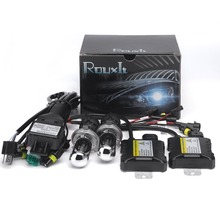 1set 55W HID H4-3 Hi/lo Bi xenon H4 Bixenon h4 bi-xenonHID Kit 4300K 6000K 8000K for Car xenon automobile headlight t DC 12V
