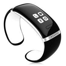 บลูทูธสมาร์ทข้อมือสร้อยข้อมือนาฬิกาl12sสำหรับhtc one m8 e8 lg g2 g3