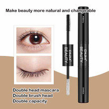 Get more info on the New 4D Double Head Mascara Grafted Grow Waterproof Warm Water Eye Lashes Extension Black Lengthen Cosmetic Eyelash