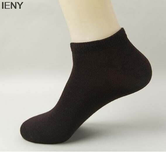 Ieny Hot Summer Boat Socks Mens Socks Mens Simple Short Socks Men's Socks