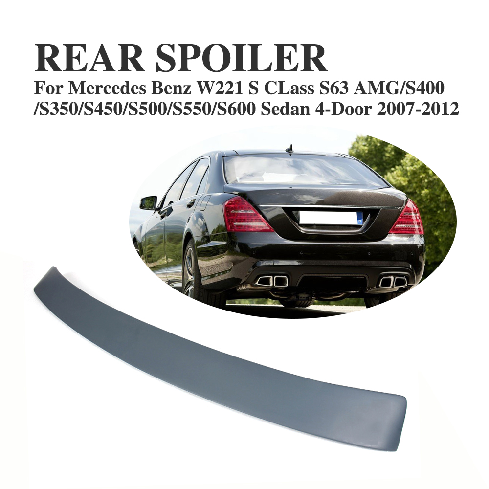 Rear Roof Spoiler Tail Window Wing For Mercedes Benz S