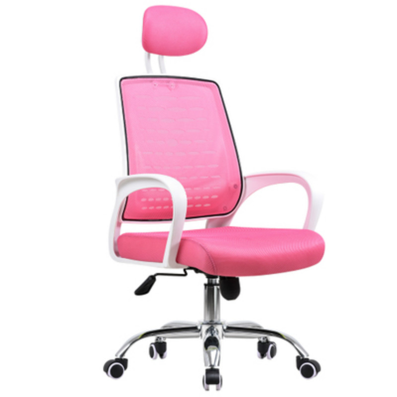 High Quality Computer Chair Household Seat Engineering Swivel Chair Student Learning Writing Chair Staff Mesh Office Chair the silver chair