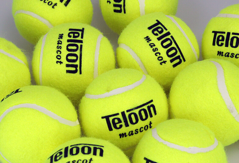 30pcs/set Teloon 801 Mascot Tennis Trainer Train Training Durable Tennis Ball Balls For Training Beginner