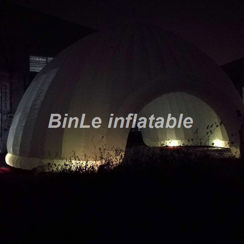 10m commercial rental house china outdoor beach garage wedding large car event cube party price camping inflatable tent with led commercial sea inflatable blue water slide with pool and arch for kids