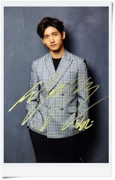 signed TOHOSHINKI  Max autographed  photo FINE COLLECTION  6 inches  freeshipping  092017C signed tohoshinki max jung yunho autographed group photo fine collection 6 inches freeshipping 092017b