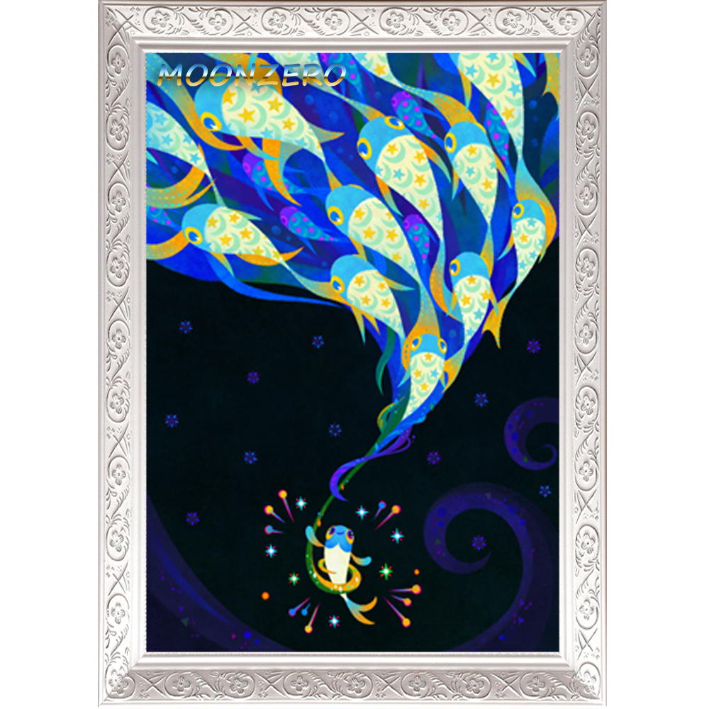 Imaginary Friend 5D Diy Diamond Painting Cross Stitch Kits Handmade  Needlework Wall Sticker Home Embroidery Fantasy Decoration