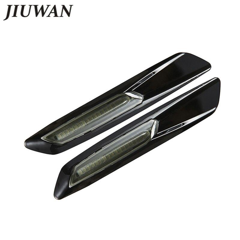 New LED Fender Side Marker LED Lamp Turn Signal Lamp Blade Shape Accessories For BMW F10 E60 E61 E81 E82 E87 E88 E90 E91 E92 E93