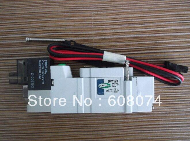 TPC DV1120-5H-M5 SOLENOID VALVE  M5  DC24V pc400 5 pc400lc 5 pc300lc 5 pc300 5 excavator hydraulic pump solenoid valve 708 23 18272 for komatsu