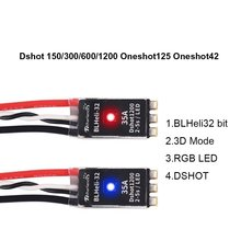 35A Brushless ESC BLHeli_32 Bit 35A 2-5S Electronic Speed Controller Built-in LED Support Dshot150/300/600/1200 for FPV RC