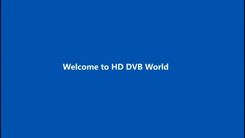 01 Welcome to HD DVB World
