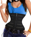 Waist Trainer with Zipper Slimming Belt Workout Waist Control Corset Full Body Shaper Weight Loss Girdles Waist Shaper for Women