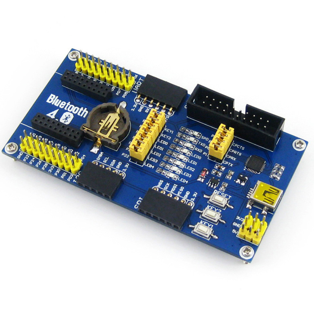 nRF51822 Board Kit BLE400 Bluetooth 2.4G Wireless Communication Module Evaluation Board Low Power Consumption