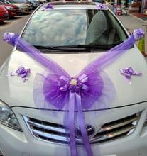 Wedding Car Decorative Flower Set Side Fleet Simulation Rose Special Korean Decoration Supplies