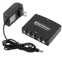 Newest 1080P HD Clear HDMI To RGB Component YPbPr Video And R L Audio Adapter Converter