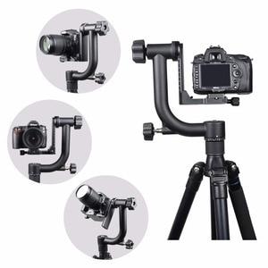 Image 5 - YELANGUแนวนอน360องศาPanoramic G Imbalหัวขาตั้งกล้องสำหรับNikon Canonโซนี่ซัมซุงกล้องดิจิตอลSLRและบ้านDV