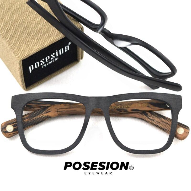 Bekleidung Zubehör Effizient Posesion Brillen Rahmen Männer Frauen Vintage Myopie Computer Optische Brille Spektakel Rahmen Klare Linse Brillen Für Männlich Weiblich Angenehm Bis Zum Gaumen