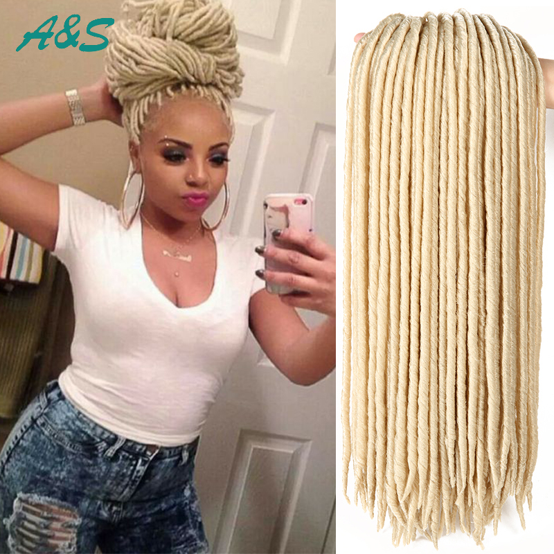 Crochet Faux Locs : Aliexpress.com : Buy 18 #613 faux locs crochet braids synthetic ...