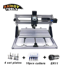 CNC3018 с ER11 DIY мини ЧПУ гравировка машины лазерная гравировка, PCB ПВХ фрезерный станок, дерево маршрутизатор с ЧПУ 3018 GRBL