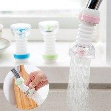 Смеситель для кухни, смеситель для душа, очиститель воды, выдвижной изгиб, вращающийся на 360 градусов, фильтр для распыления воды
