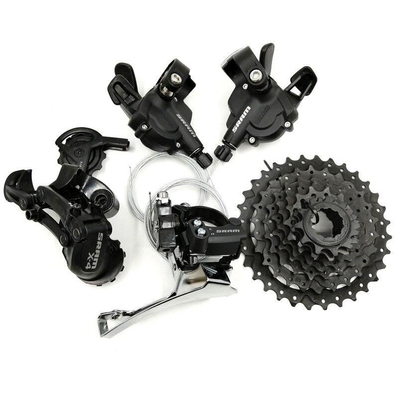 FMFXTR X4 3*8/24 vitesses vélo dérailleur Set levier de vitesse arrière * avant dérailleur 11-32 T Cassette roue libre VTT Sram