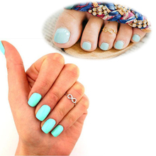 1pcs Wholesale Lots Alloy Unisex Vintage Gold Silver Color Number Design Open Mouth Rings for Women Men Finger Foot Toe