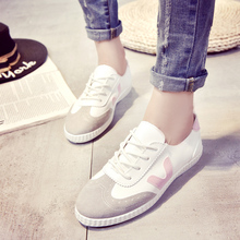 Summer 2016 Korean white shoes woman casual shoes students fashion breathable zapatos mujer