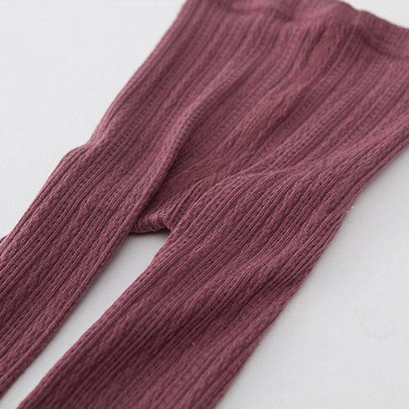 Kids-Warm-Thick-Elastic-Waist-Tights-Baby-Girls-Cotton-Knitted-Solid-Pantyhose-2