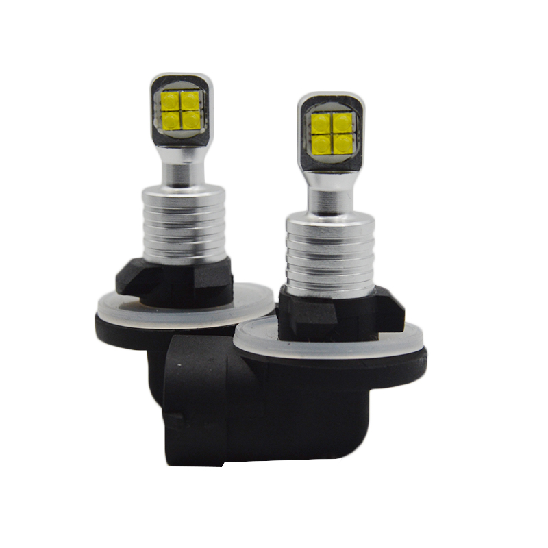 2pcs <font><b>H1</b></font> H3 880 881 H21 <font><b>LED</b></font> auto fog lamp car auto headlight Driving Bulb white powered by <font><b>cree</b></font> chips XBD image