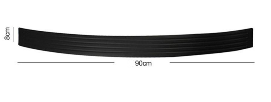 Image 2 - Car Trunk Rubber Bumper Guard Protector Car Accessaries for Volkswagen VW Golf 4 6 7 GTI Tiguan Passat B5 B6 B7 CC-in Car Stickers from Automobiles & Motorcycles