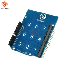 Touch Shield For Arduino UNO R3 MEGA 2560 R3 Capacitive Touchpad 9 keypad 3×3