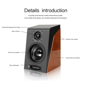 Image 5 - New Creative MiNi Subwoofer Restoring Ancient Ways Desktop Small Computer PC Speakers With USB 2.0 & 3.5mm Interface