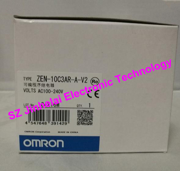 ZEN-10C3AR-A-V2  New and original OMRON Programmable relay
