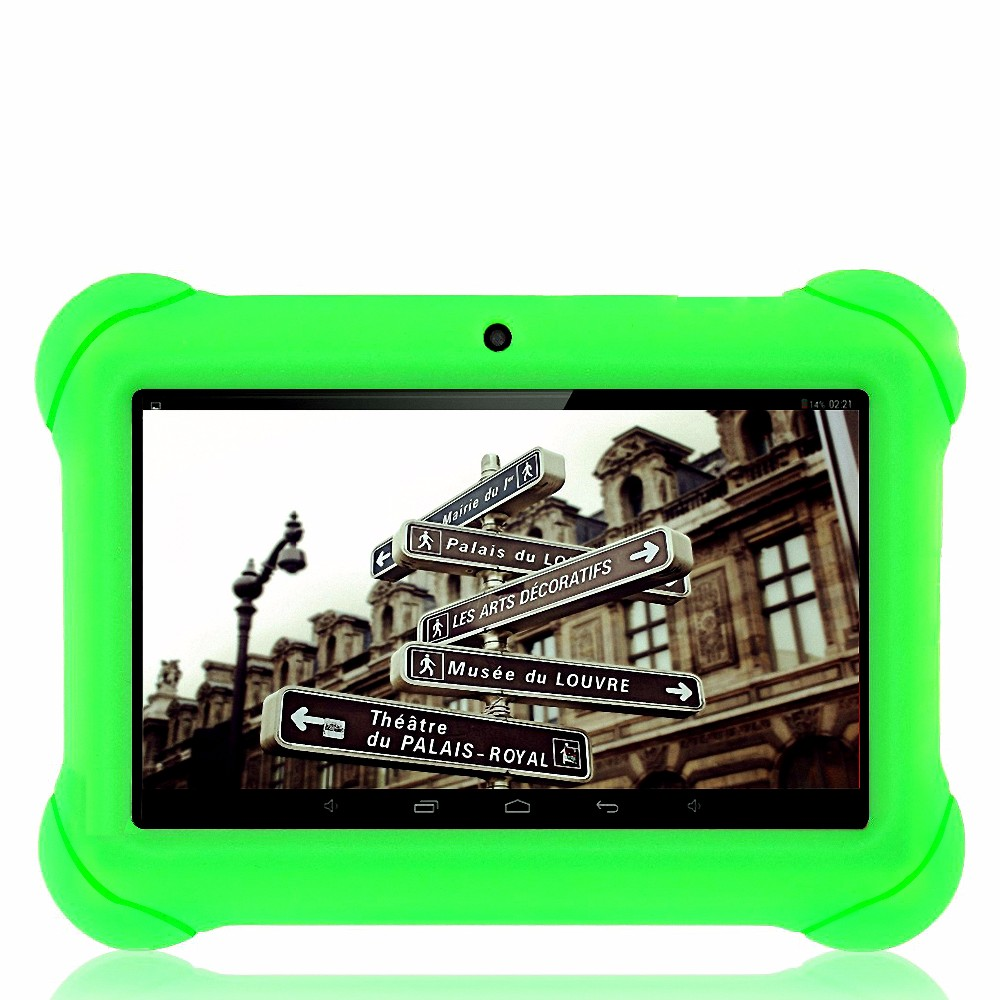 New Fashion 7 Inch Tablet For Kids Children Gift 1.3MP 1204*600 Game Apps Android 4.4 WiFi Quad Core Tablet Pc 7 8 9 10 10.1